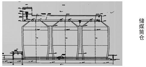 储煤筒仓概况图