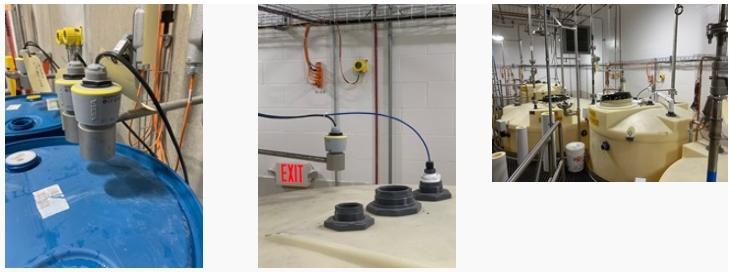 雷达液位计可在各种应用中提供准确的液位测量