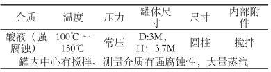 化工厂液位改造测量工况